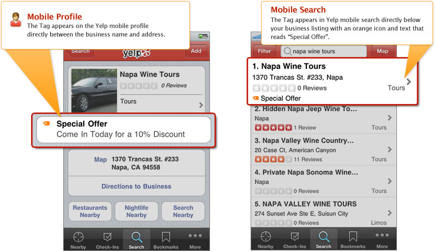 PowerListings Mobile on Yelp